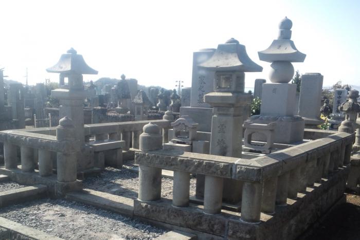 墓石洗浄後